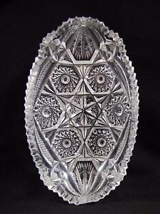 Antique-Crystal-Relish-Tray-with-Star-Design