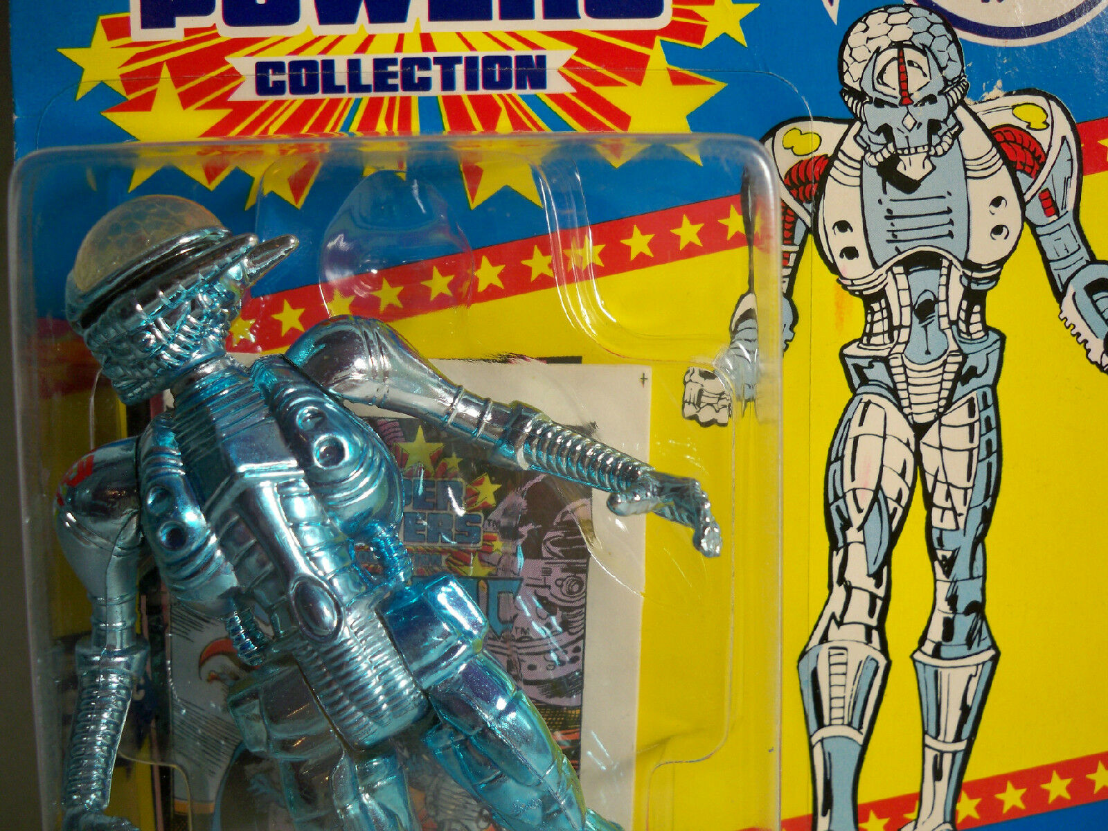 D0506577 Brainiac super pouvoirs Comme neuf sur scellé voiturete Comme  neuf on voitured Comme neuf on voitured KENNER avec étui  produits créatifs