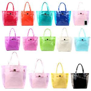 Ladies-Fashion-Designer-Bow-Trim-Detail-Crystal-Shopper-Bag-Women-Tote-With-Zip