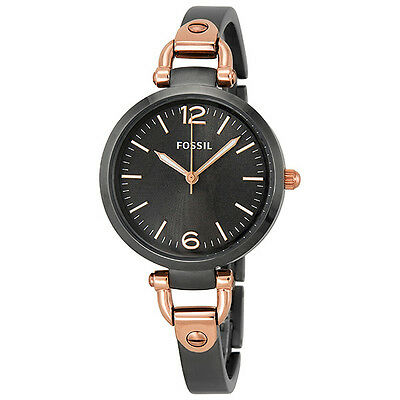 Fossil Georgia Smoke Grey Ion-plated Ladies Watch ES3111