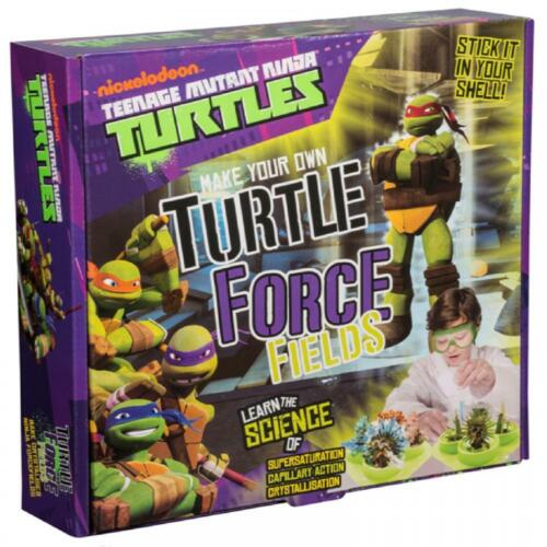 Teenage Mutant Ninja Turtles Kids Science Force Educational Toy Craft Fields NEW