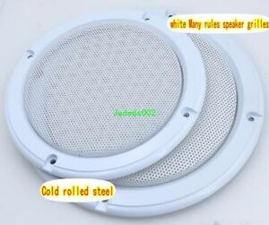 """2pcs 6.5/""""inch ceiling speaker cover Car horn grille Protective cover 200mm"""