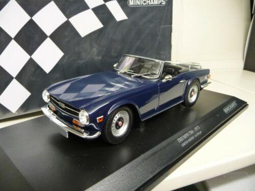 1:18 Minichamps Triumph TR6 blau blue NEU NEW