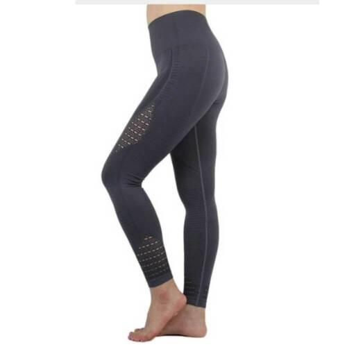 Womens High Waist Yoga Leggings Stretch Fitness Ladies Sports Gym Pants Trousers