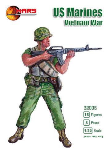 guerre du vietnam Mars 1//32 U.S MARINES # 32005