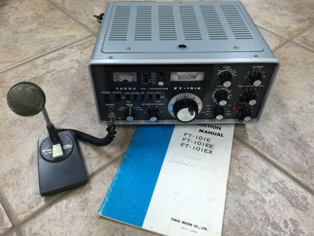 Yaesu FT-101E Amateur Radio Transceiver