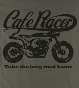 Cafe-Racer-Take-the-Long-Road-classic-motorcycle-t-shirts-Earth-Colour
