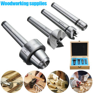 4Pcs-Set-MT1-Wood-Lathe-Live-Center-Drive-Spur-Cup-Arbor-with-Wood-Case