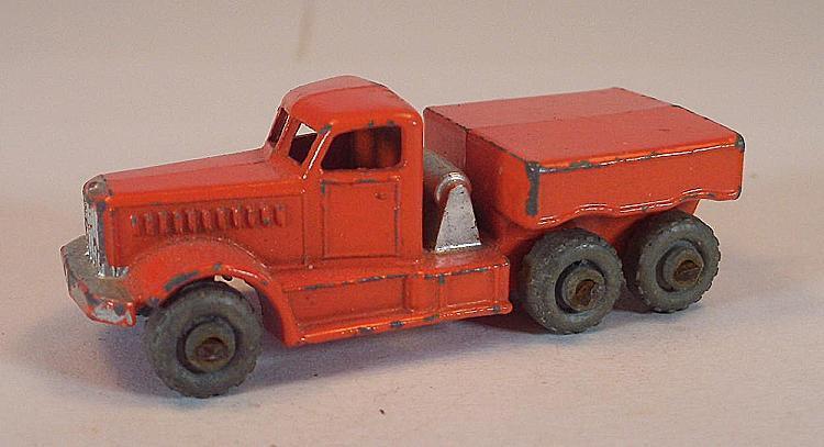 MATCHBOX REGULAR WHEELS Nº 15 A Prime Mover Orange PL LESNEY  217