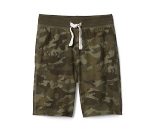 NWT GAP KIDS BOYS SHORTS pull-on camo dino dinosaurs shorts u pick size cotton