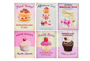 40x30cm-Canvas-Cupcake-Toertchen-Muffin-Wandbild-Bild-Shabby-chic-Landhaus-459