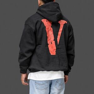 vlone v lone black and white streetwear friends hoodie as. Black Bedroom Furniture Sets. Home Design Ideas