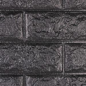 Image Is Loading 3D Brick Waterproof Self Adhesive Wall Sticker Panel