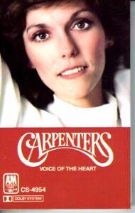 Carpenters-Voice-Of-The-Heart-1983-Cassette-Tape-Album-Classic-Pop-Folk-Rock