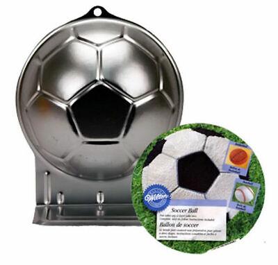 Soccer Ball Cake Pan From Wilton 2044 70896520449 Ebay