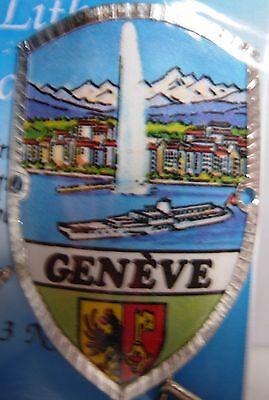 Switzerland Basel new badge mount stocknagel hiking medallion G9749