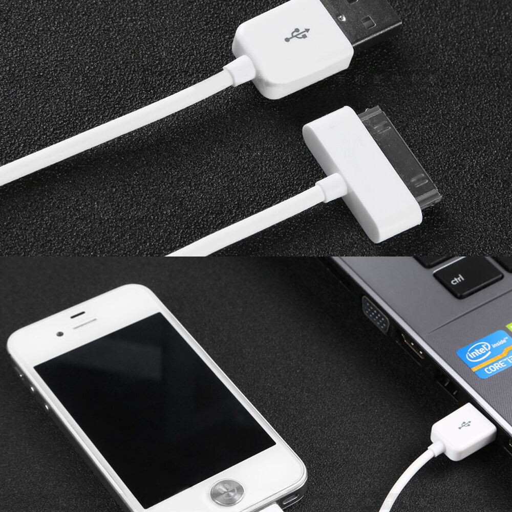 50x charging lead charger usb data cable for iphone 4 4s. Black Bedroom Furniture Sets. Home Design Ideas