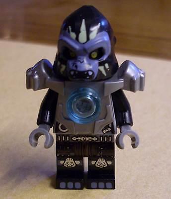 Lego Legends of Chima Gorzan Figur mit Rüstung Armor silber Gorsan Neu