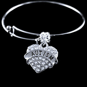 Image Is Loading Autism Charm Bracelet Autistic Awareness Jewelry