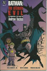 Batman The Ultimate Evil 1/2 - Dc 1995 ( Comics Usa ) Valeur Formidable
