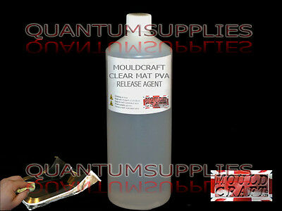 Mouldcraft CLEAR PVA MAT RELEASE AGENT 250ML FOR USE ON FIBREGLASS MOULDS RESIN