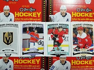 2019-20-O-Pee-Chee-RC-SH-CL-LL-501-600-YOU-PICK-FROM-LIST