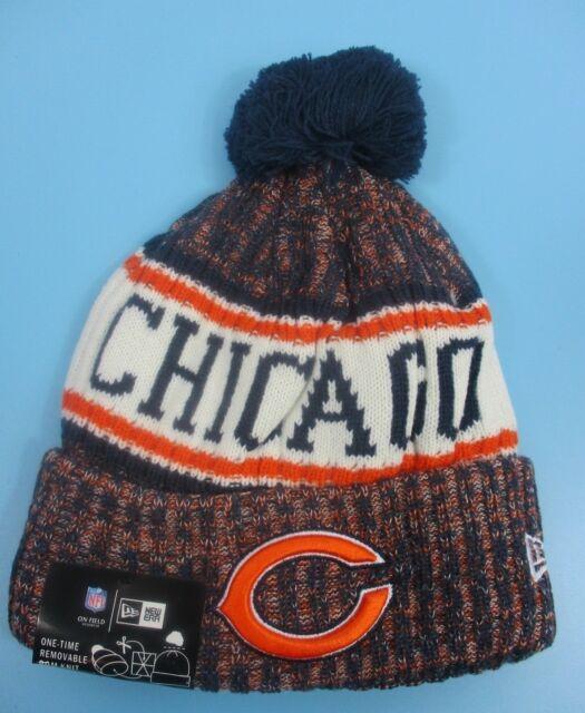 9e9a014f0 CHICAGO BEARS - New Era - Knit Winter Hat (Fold UP Style with Pom Pom)