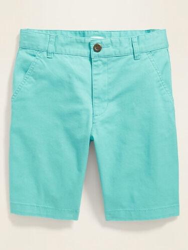 Old Navy Boys Straight Built-In Flex Twill Shorts Illusion Sizes 6 /& 16