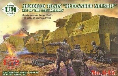 UM-MT 1 72 Armored Train  Alexander Nevsky