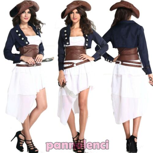 Women/'s carnival costume pirate DELUXE pirate costume halloween DL-1607