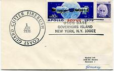 Coast Guard Cutter FIREBUSH Apollo Soyuz USCG Base Governor Island Polar Cover