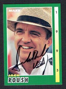 Jack Roush Signed Nascar Trading Card Autographed