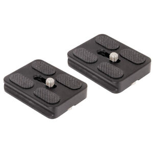 Set-Of-2-Replacement-Quick-Release-Plates-For-The-Mefoto-A1350Q1W-Roadtrip-Trave