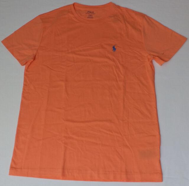 9a8f895cbcf Polo Ralph Lauren V Cut Medium Light Orange T Shirt SS Tee for sale ...
