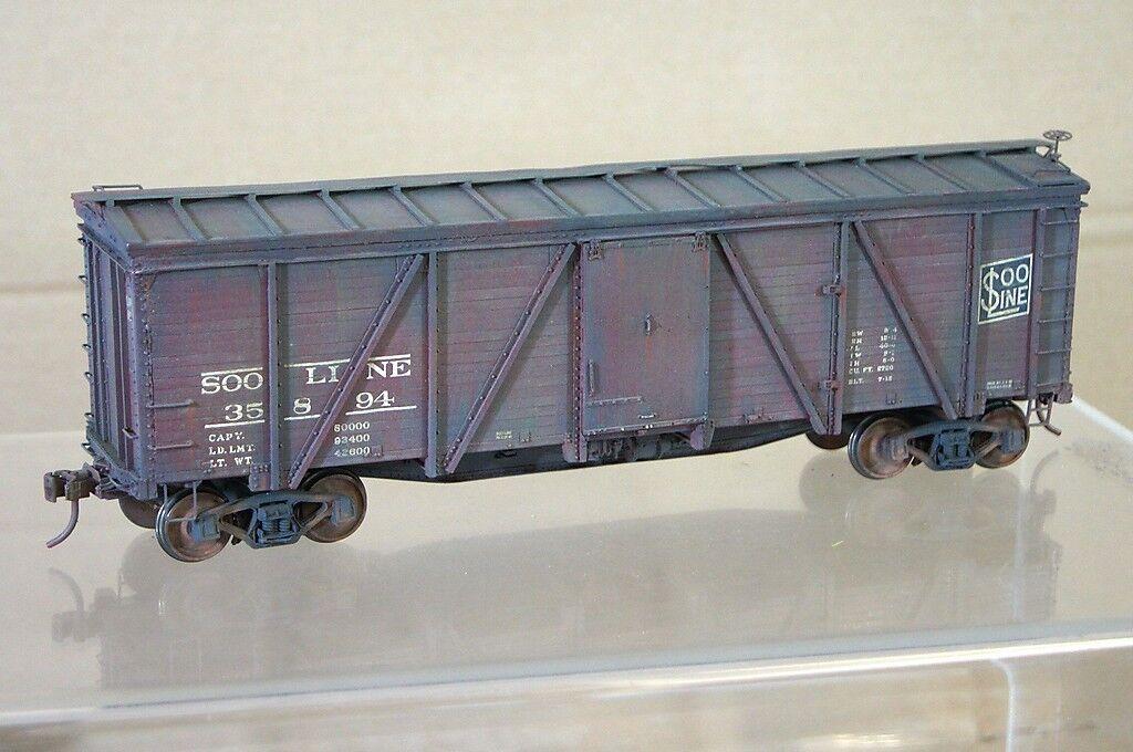 O Calibre Kit Montado 2 Tren Línea Soo Sl 40' Puerta Individual Woodside Vagón