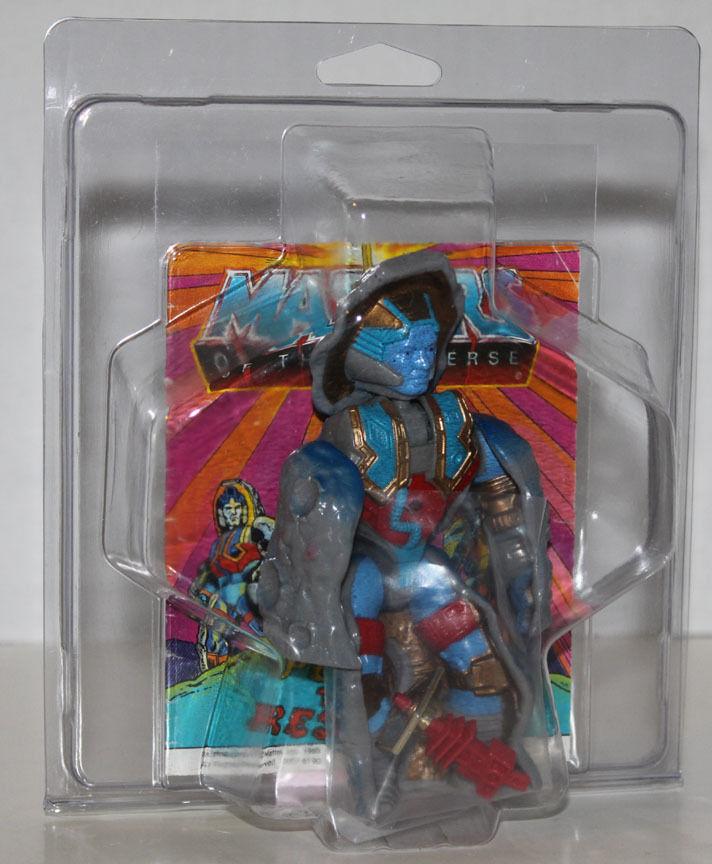 MOTU He-Man STONEDAR loose complete w  case and comic