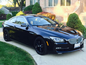 2013 BMW 650Xi 2-door coupe **VERY LOW MILEAGE** **CLEAN CAR**