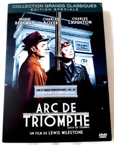 Arc-de-Triomphe-BERGMAN-BOYER-LAUGHTON-dvd-Excellent-etat