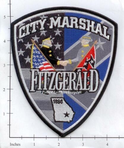 Georgia Fitzgerald City Marshal GA Police Dept Patch v1