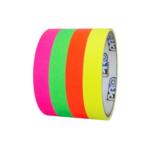 Pro Console Tape Fluorescent Stack 4 Color Pack