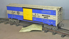 "Lionel Postwar #6464-150 Missouri Pacific "" EAGLE ""  BOXCAR TYPE- 1 SOLID  DOOR"