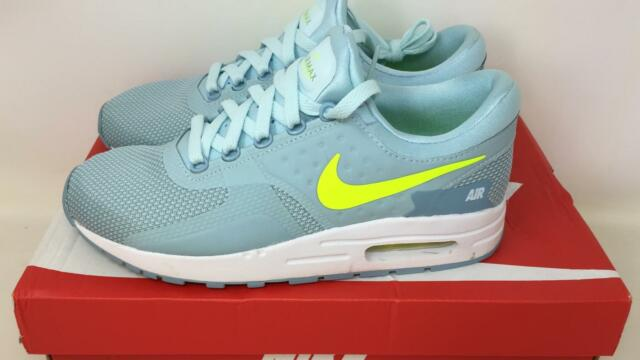 new styles 852cb 1b78d Youth Size 6y Glacier Blue Volt White Nike Air Max Zero Essential GS  SNEAKERS. +.  44.99Brand New