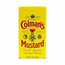 Coleman's Dry Mustard Powder 16 Ounce Free Shipping