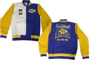 Los Angeles Lakers 2000-02 Mens Sizes Mitchell & Ness Authentic Warm Up Jacket