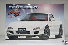 Fujimi 03513 ID-93 JDM Mazda RX-7 Type RZ FD3S BBS Wheels Recaro Seats Model Kit