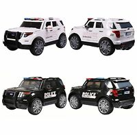 Rebo Ford Police Interceptor Style 12v Child's Ride On Electric Jeep - 2 Colours