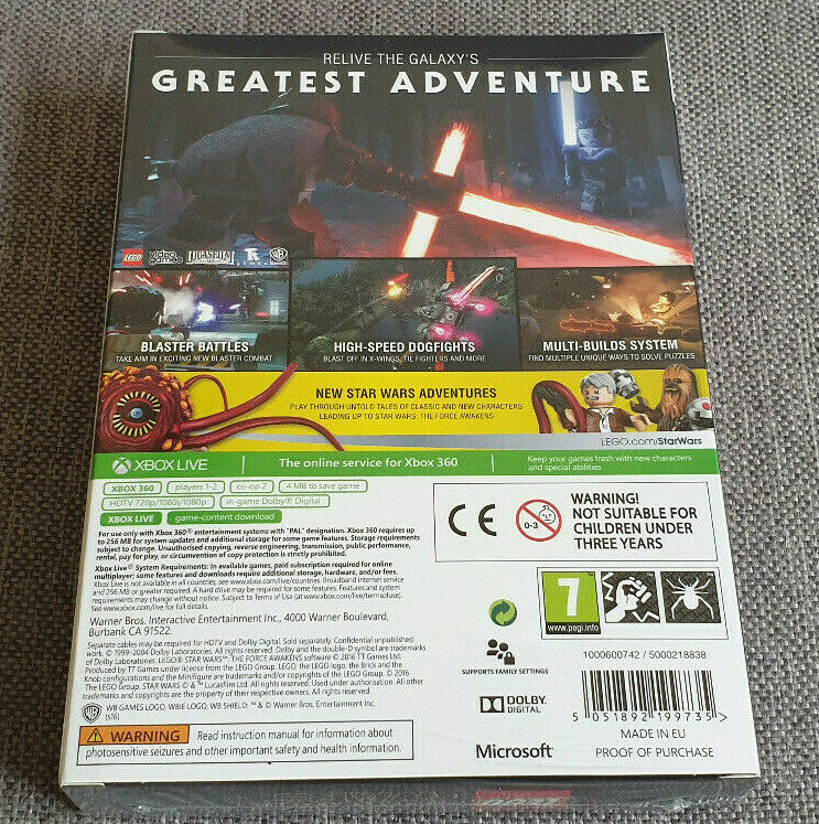 Microsoft Xbox 360 Lego Star Wars Force - Occasion StarWars