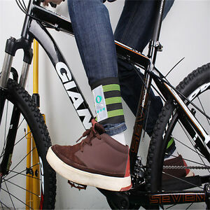 Fashion-Cycling-Bike-Bicycle-Bind-Elastic-Trousers-Pants-Band-Leg-Strap-XI