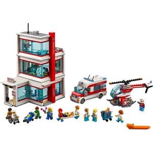 New 964PCS City Hospital Children/'s Building Block