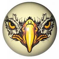 Eagle Face Cue Ball Custom For Pool Players By D&l Billiards on Sale